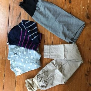 Maternity clothes Size Small. Sweaters pants skirt